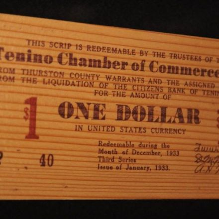 Why a Small Town in Washington State Is Still Printing Wooden Money