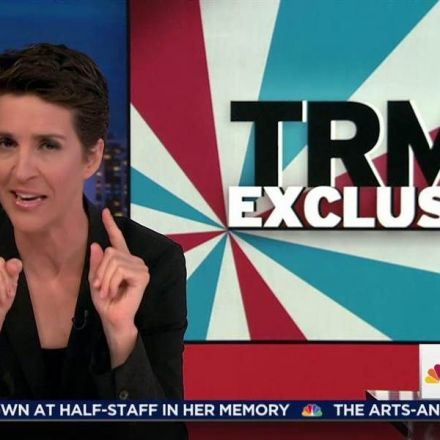 Maddow to news orgs: beware of forged Trump Russia documents!
