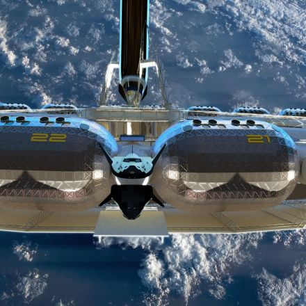 """Visiting space will be """"just like going on a cruise"""" says space hotel architect"""