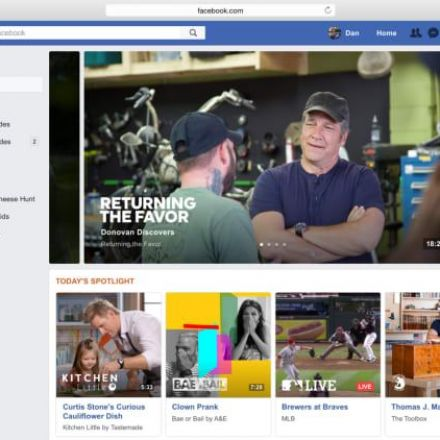 Facebook's Debuting A New Video Service