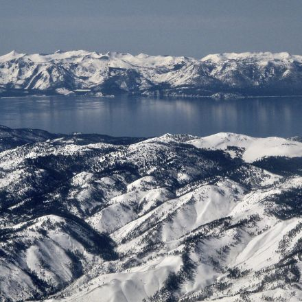 12 billion gallons of water pour into Lake Tahoe amid this week's heat wave