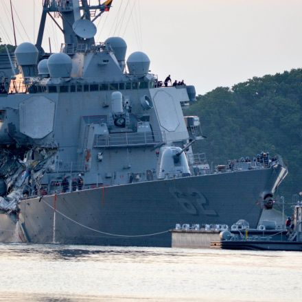 US warship crash that killed seven American sailors 'was Navy's own fault'