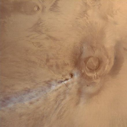 A Volcanic Eruption on Mars? Nope.