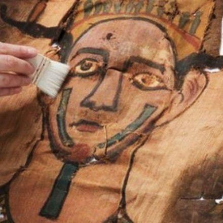 2,000-year-old mummy shroud found in museum storage