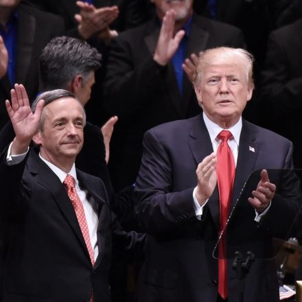 President's pastor Robert Jeffress says evangelicals who don't back Trump are 'spineless morons'