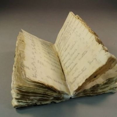 100-year-old notebook found encased in Antarctic ice is part of Robert Scott's expedition team