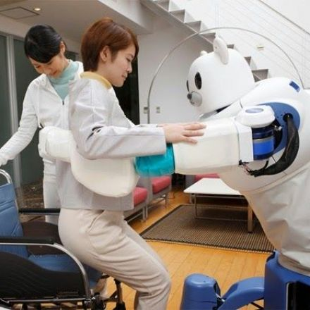 Robear robot care bear designed to serve Japan's aging population