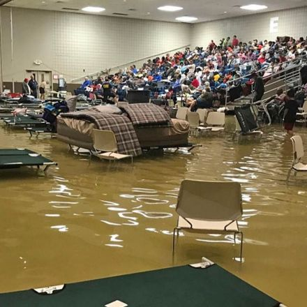 "Residents ""fighting for their lives"" after record rainfall in Beaumont and Port Arthur, Texas"