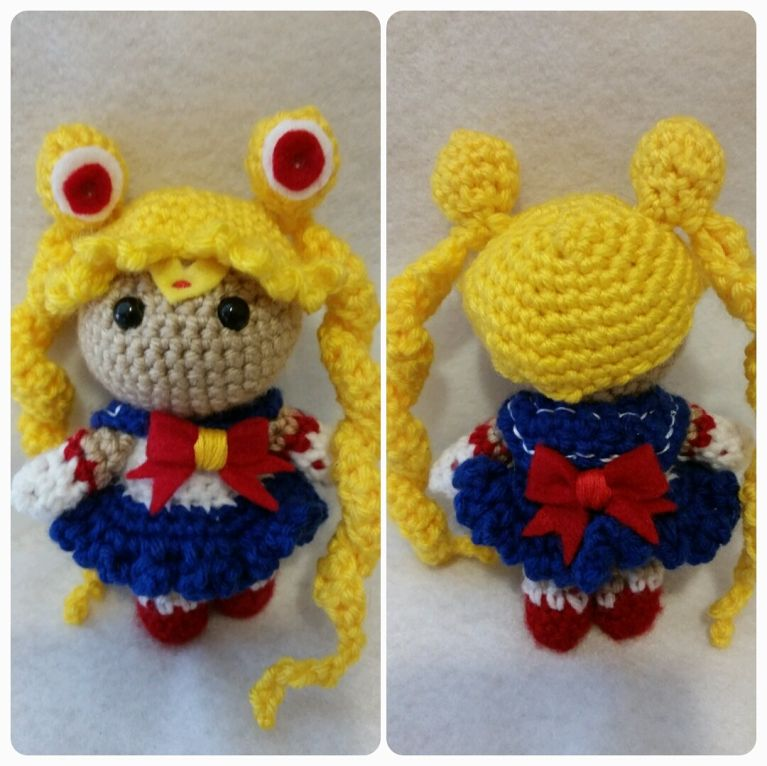 Sailor Moon - my most recent and favorite project!