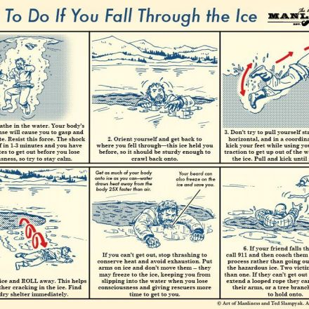How to Survive Falling Through the Ice: An Illustrated Guide