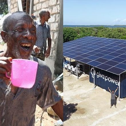 Kenya Installs the First Solar Plant That Transforms Ocean Water Into Drinking Water, and It Could Be the Solution to the Global Lack of Water