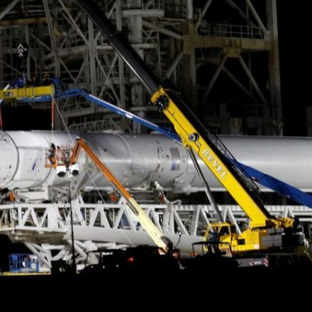 SpaceX Falcon lifts off from historic Kennedy Space Centre