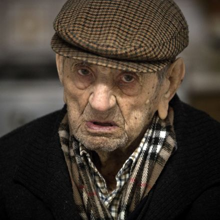 This 111-year-old Spaniard is world's oldest man… or is he?
