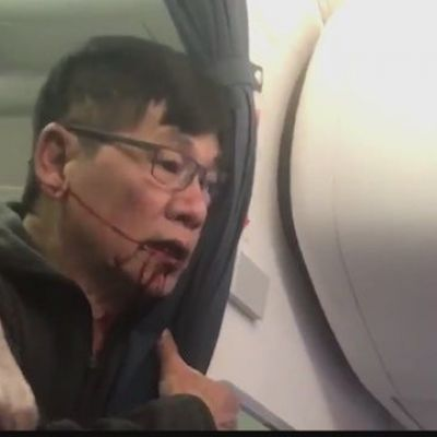 Two officers fired after man is dragged from United flight in April