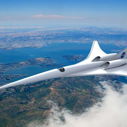 NASA Developed an X-Plane that Can Go Supersonic Without a Boom
