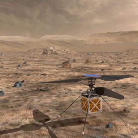 NASA is sending a helicopter to Mars to get a bird's-eye view of the planet