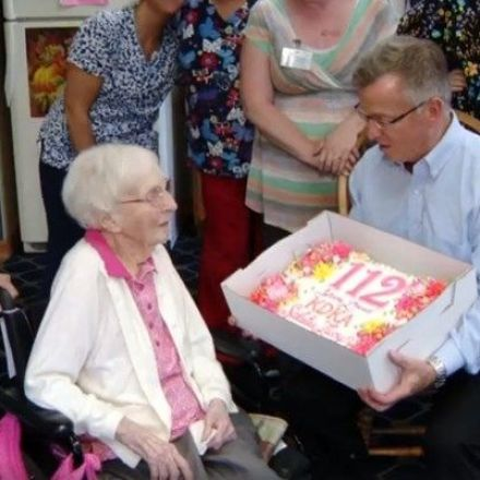 Pennsylvania woman on her 112th b-day: 'I still like beer'
