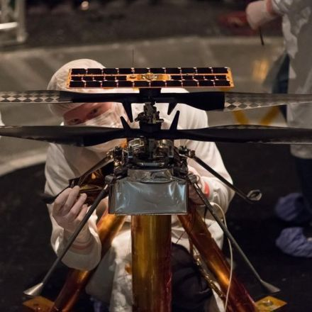 NASA has officially attached a helicopter to the Mars 2020 Rover