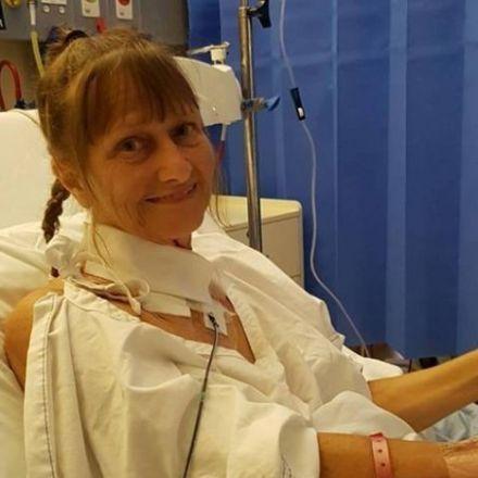 'Blood was everywhere': Flying mackerel cuts woman's throat