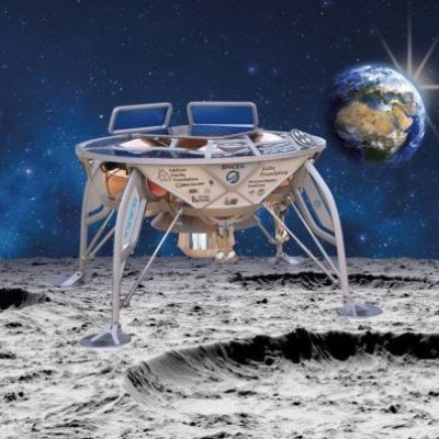 SpaceX Rocket Launches 1st Private Moon Lander for Israel