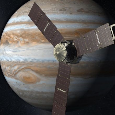 NASA's Juno Spacecraft to Fly Over Jupiter's Great Red Spot July 10