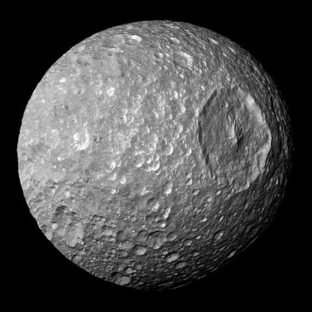 Something Weird Is Going On Inside Saturn's Moon Mimas
