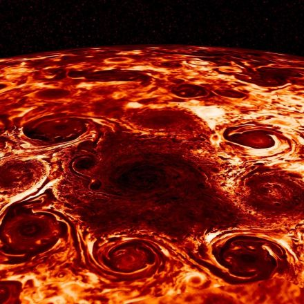 Nasa reveals stunning pictures of Jupiter like nobody has ever seen before