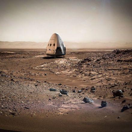 NASA: We're Not Racing SpaceX to Mars