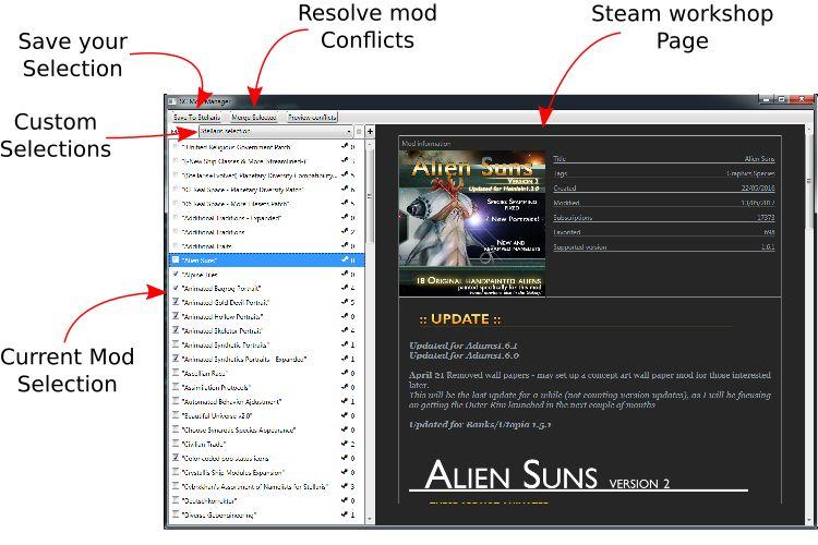 Stellaris Mod Manager - Snapzu com