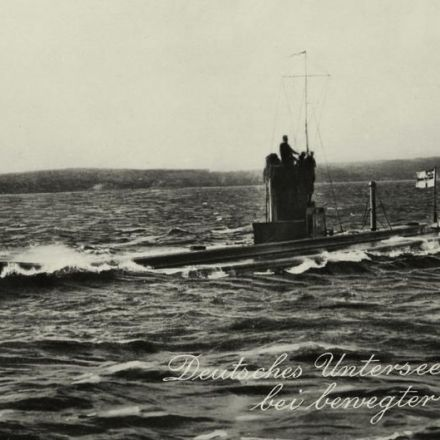 German WWI submarine discovered off Belgian coast