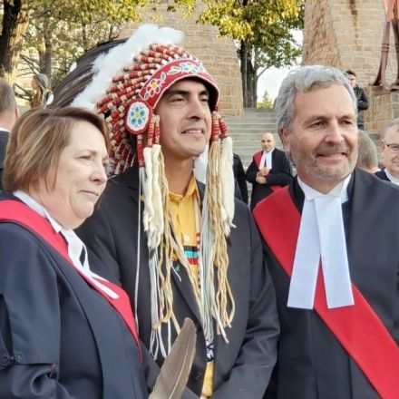 Introduction of sacred eagle feathers into Manitoba courts called a historic moment
