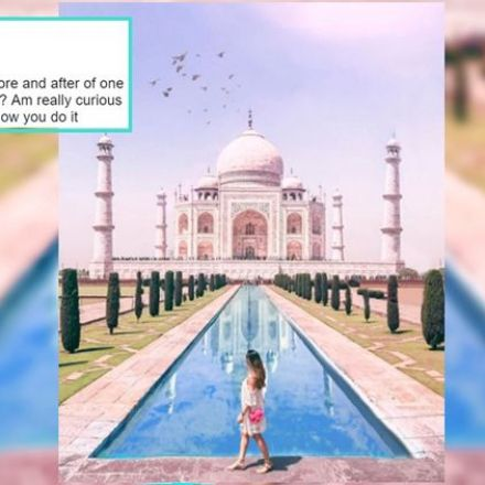 Travel blogger gets brutally roasted for fake 'photoshopped' Instagram photos