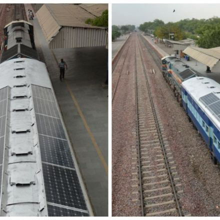 India is rolling out trains with solar-powered coaches that'll save thousands of litres of diesel
