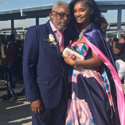 Teen didn't have a date for prom so her grandfather got dressed up and stepped in