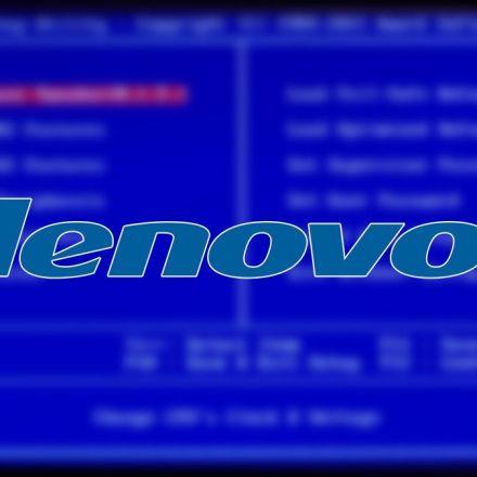 Lenovo Installing Immortal Crapware