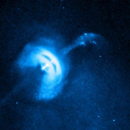 Astronomers catch a pulsar 'glitching'