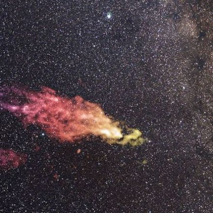 The huge gas cloud flying towards our galaxy could create 200 million new stars