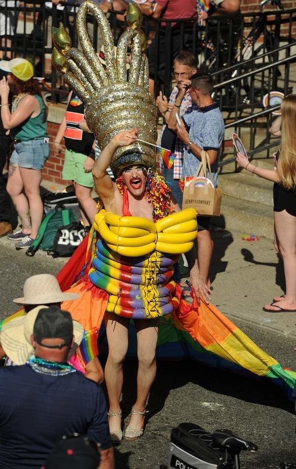 Candyland was this year's Carnival theme. Check out all of the Lifesavers, lollipops and other candy themed costumes worn during the 37th annual parade Thursday in Provincetown.