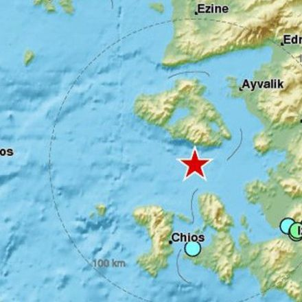 6.0 earthquake strikes western Turkey, depth of 10km