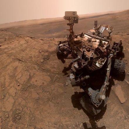 NASA Mars Curiosity rover selfie celebrates rare scientific feat
