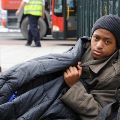 A fifth of young people are homeless