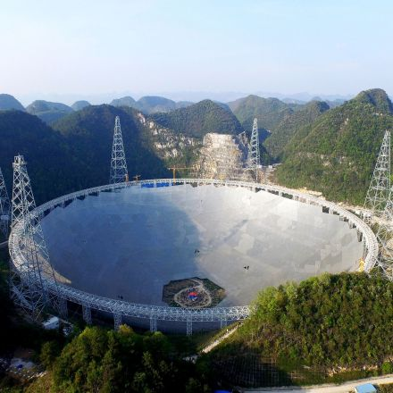 China's giant space telescope starts search for alien life