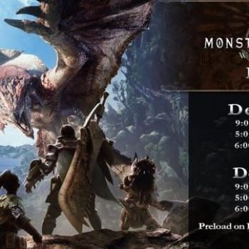 Monster Hunter: World PS4 open beta set for December 22 to 26