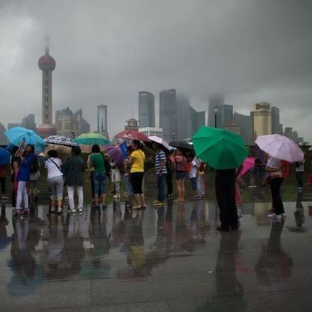 China Is Splashing $168 Million to Make It Rain
