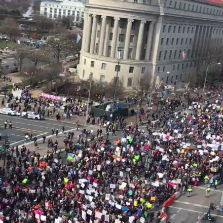 March for Our Lives: hundreds of thousands demand end to gun violence – live