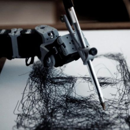 A British artist spent 10 years teaching this robot how to draw, and it totally shows