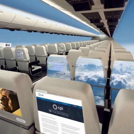 Windowless planes could be a reality in less than 10 years