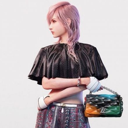 Louis Vuitton gains +10 charisma by enlisting Final Fantasy's Lightning