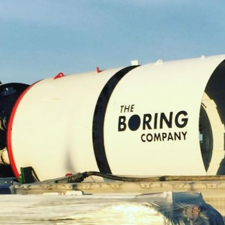 Elon Musk's giant tunnel boring machine arrived at SpaceX – first pictures