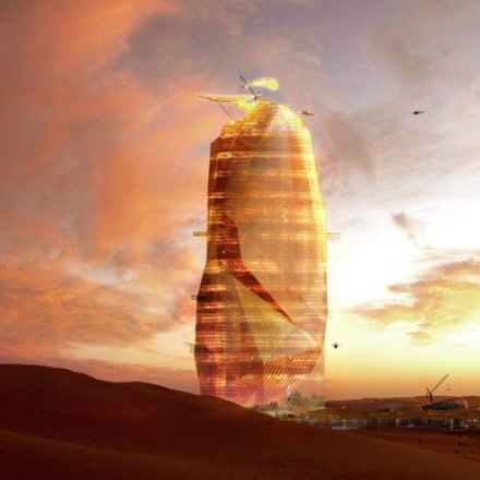A Vertical City in the Sahara?